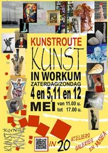 KUNST IN WORKUM 2013 poster-kunstroute-2013-web