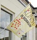 Openingstijden musea galeries ateliers vlag-kunstroute-workum