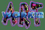 kunstroute workum - Logo ARTWORKum