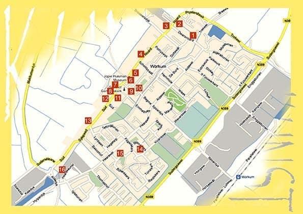plattegrond KIW