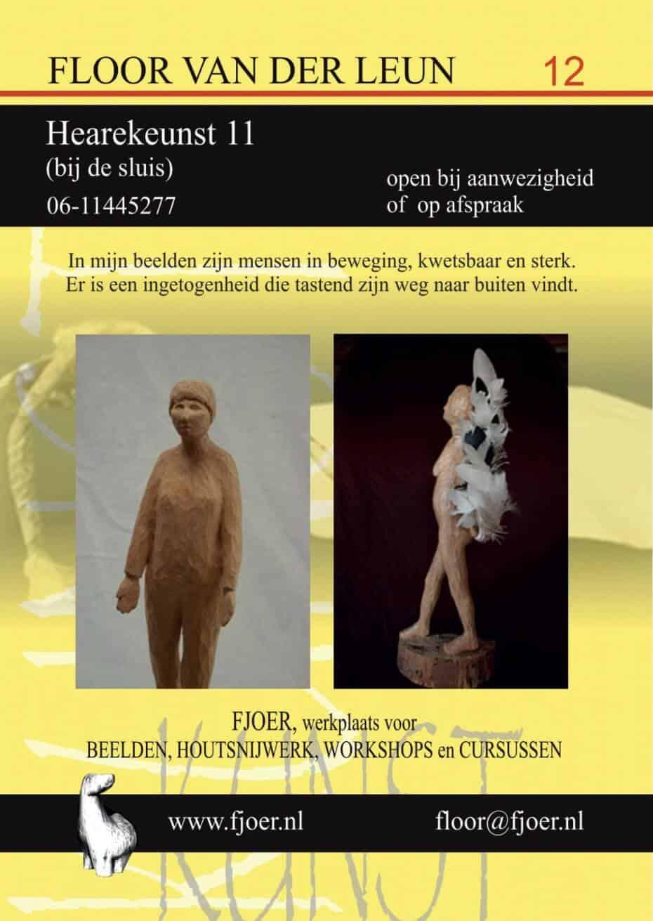 Beeldenstadworkum en kunst in workum for Van der leun rijssen