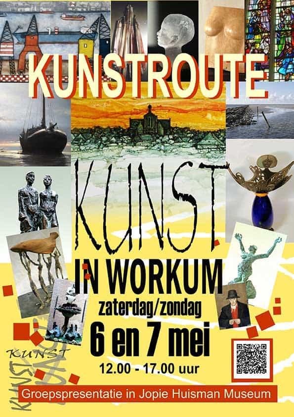 parel in Friesland Kunstroute Workum 2017