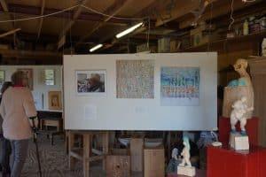 Kunstroute Workum mei 2017 schilderijen Jan Kok†