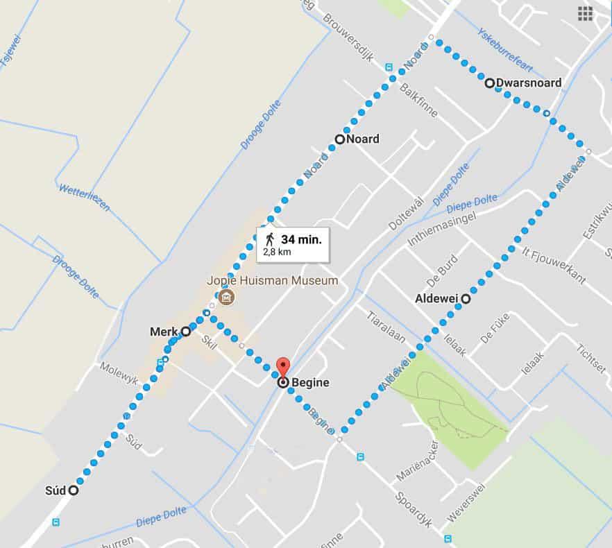 Friese kunstenaars - kunstpanelen route