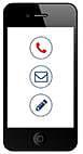 Afbeelding telefoon-email - contactgegevens