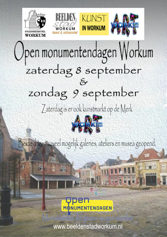Artworkum & Open monumentendagen Workum