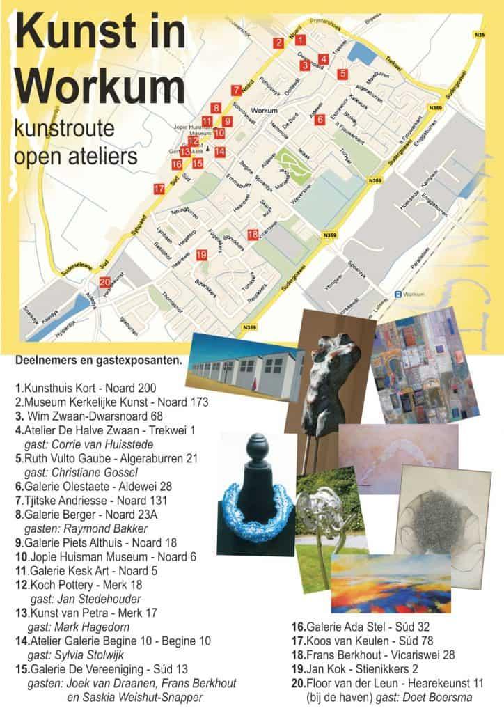 Kunstroute Workum mei 2013